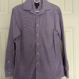 Jos A Bank long sleeve slim fit dress shirt